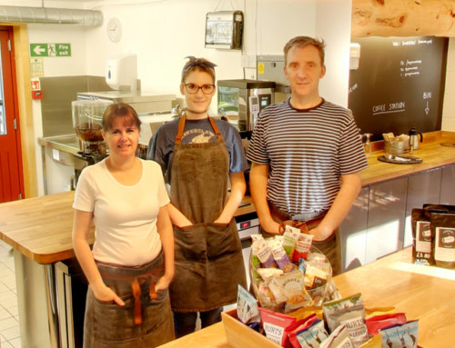 The Green Wood Cafe – a Warm Welcome awaits